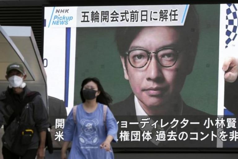 """El jefe de las Olimpiadas en Japón, Seijo Hashimoto, dijo que el video ridiculizaba """"hechos dolorosos de la historia"""""""