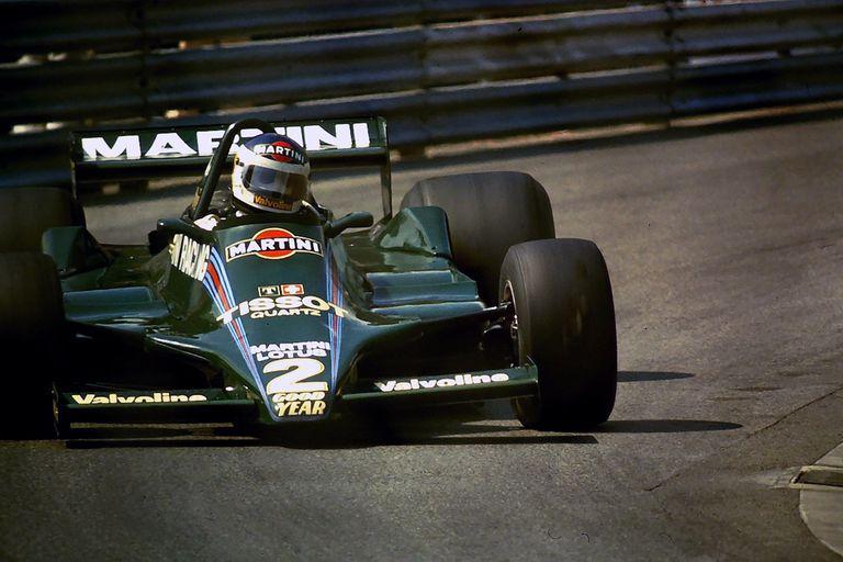 Lole con el Lotus: Colin Chapman le tenía una profunda admiración