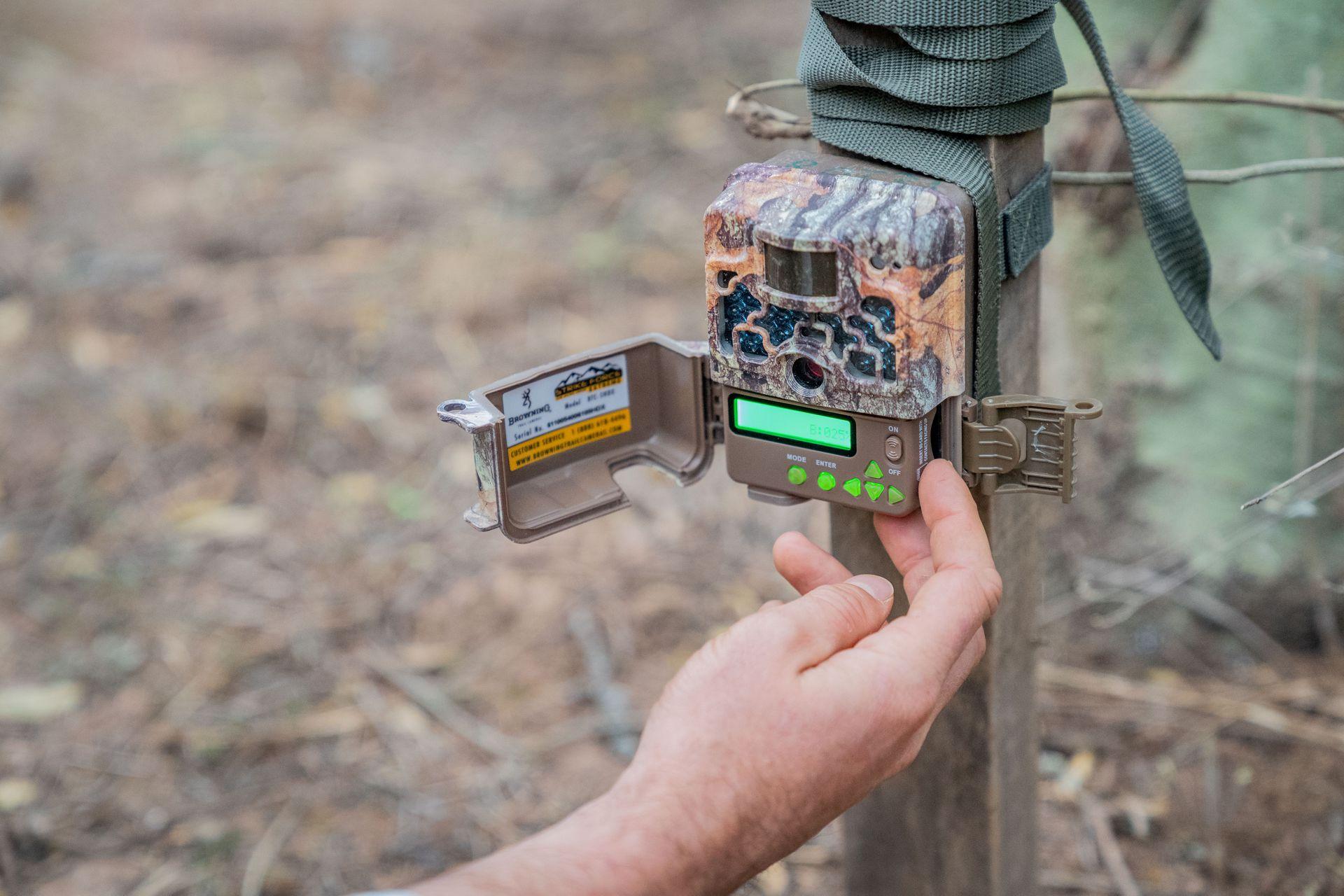 Una de las 30 cámaras trampa de CLT instaladas en El Impenetrable.