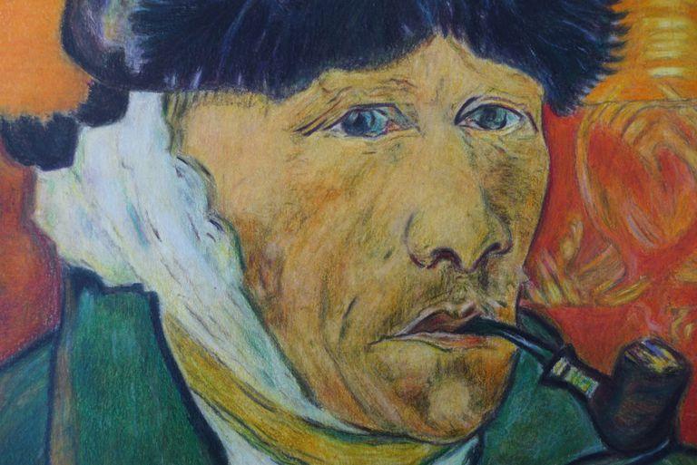 Descubren una rara obra de Vincent Van Gogh escondida dentro de una novela