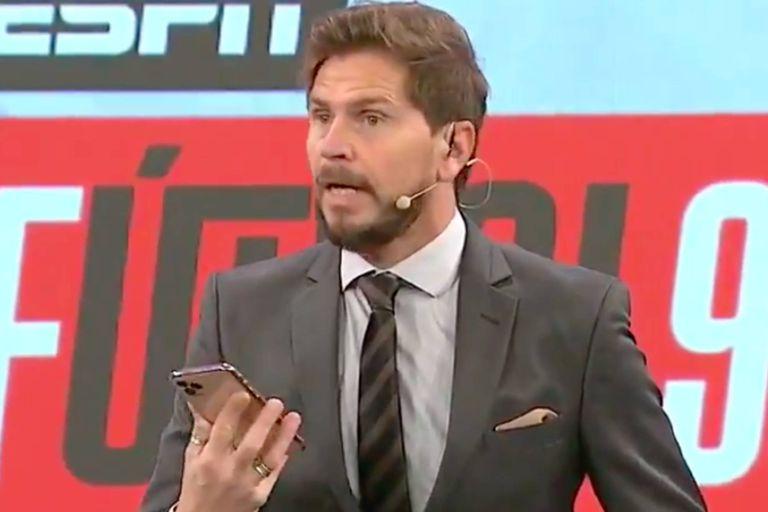 Lionel Messi sorprendió a Sebastián Vignolo con un audio en vivo