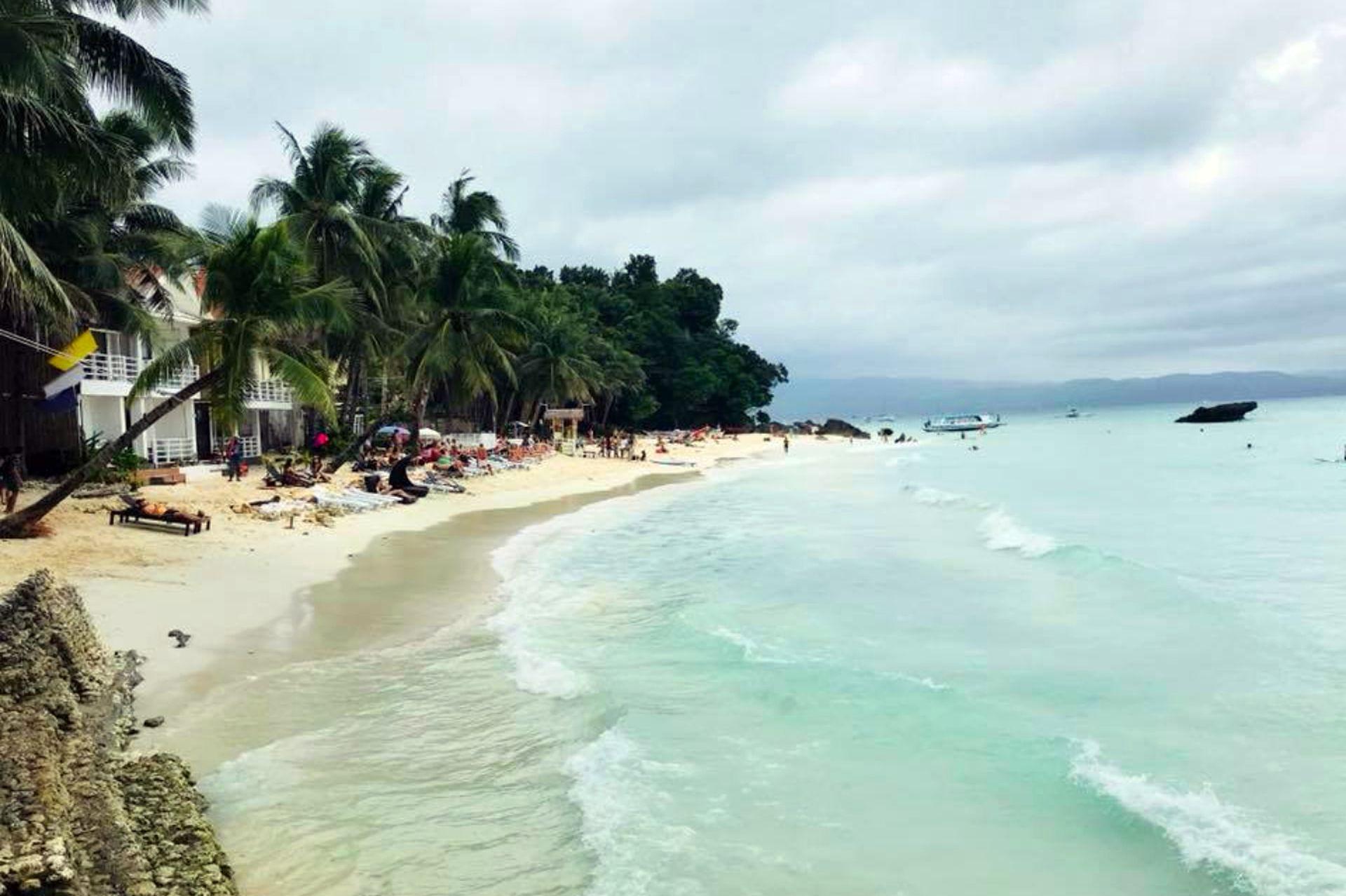 En Boracay, para aclarar los pensamientos.
