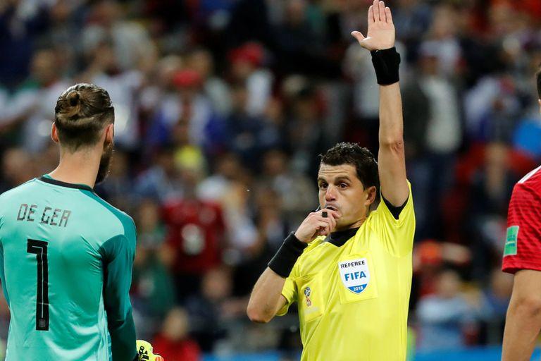 El árbitro del VAR de Lanús-River dirigirá la semifinal entre Francia y Bélgica