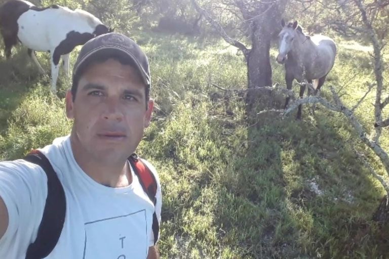 Luciano Woloschuk, productor en la colonia agrícola