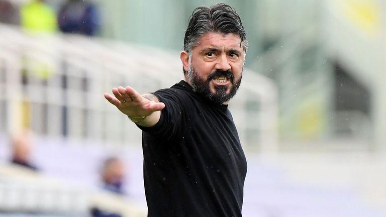 Gattuso cambió Nápoles por Florencia
