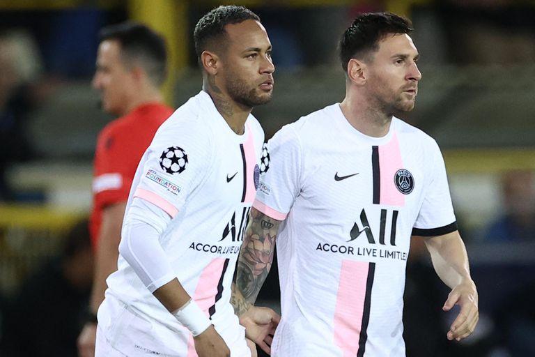 Messi y Neymar volverán a coincidir entre los titulares del PSG, ahora en un partido por el campeonato galo.