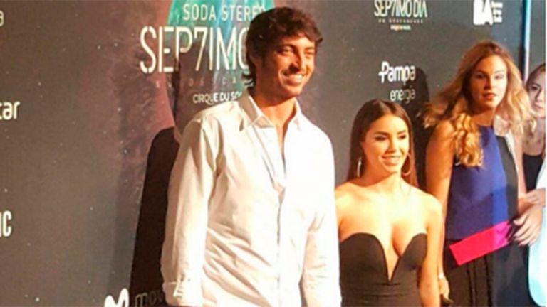 Lali Espósito y su novio, Santiago Mocorrea