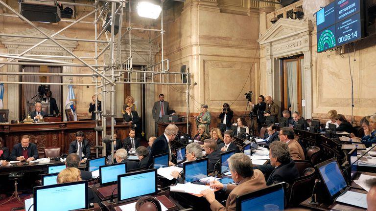El Senado aprobó modificaciones a ley que restringe excarcelaciones
