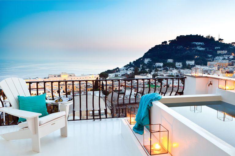 Capri, una de las islas más turísticas de Italia
