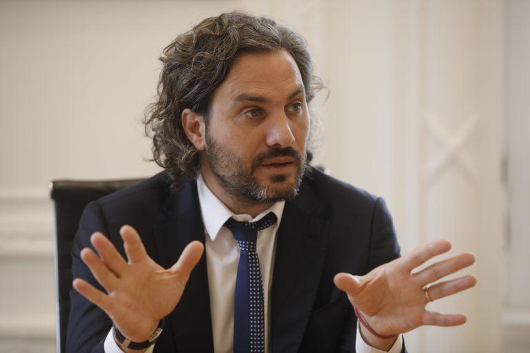 Santiago Cafiero habló por primera vez de las visitas a la Quinta de Olivos