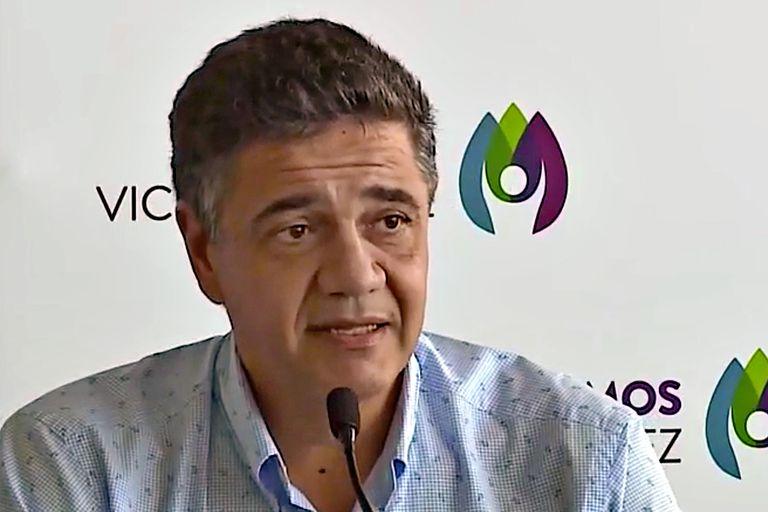 """El intendente de Vicente López, Jorge Macri, critica a Kicilllof porque """"habla más de lo que escucha"""" y a Alberto Fernández, porque gobierna """"con el retrovisor"""", pero también apunta a la interna de Juntos por el Cambio"""
