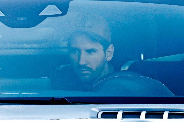 Lionel Messi llegó primero al entrenamiento de Barcelona