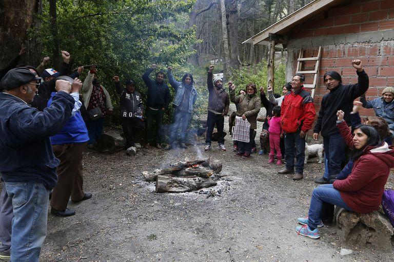 Los conflictos con comunidades mapuches se extienden por todo el norte de la Patagonia