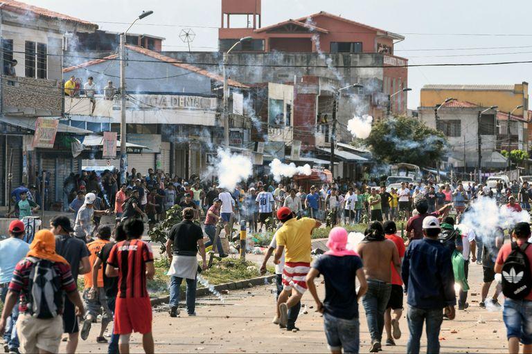 Protestas en Bolivia tras las elecciones del domingo