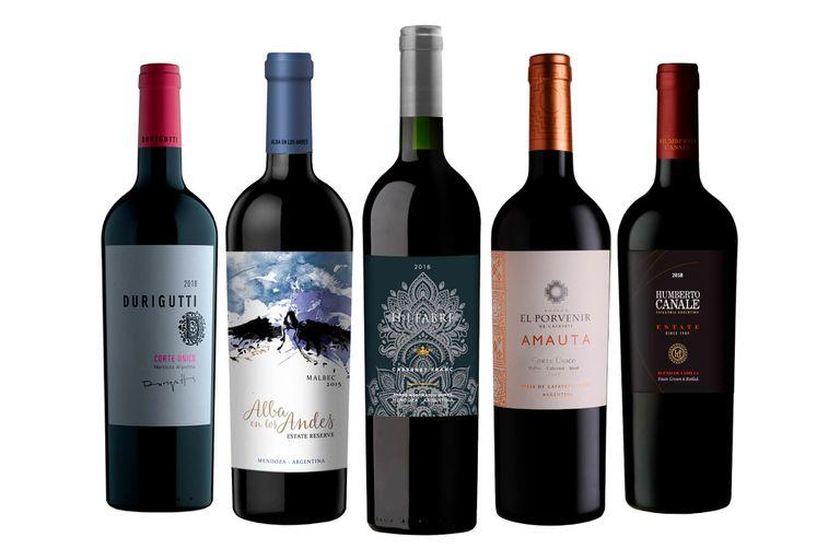 ¿Cuáles fueron los mejores 15 vinos de 2019?