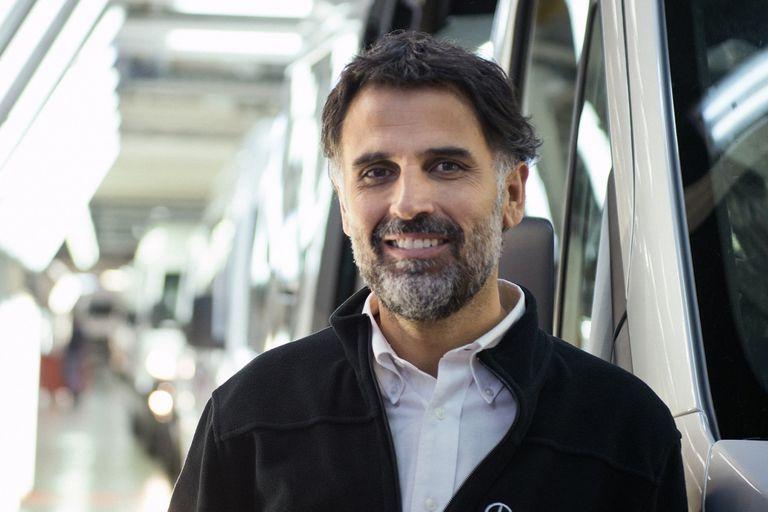 Manuel Mantilla, CEO de Mercedes-Benz Argentina