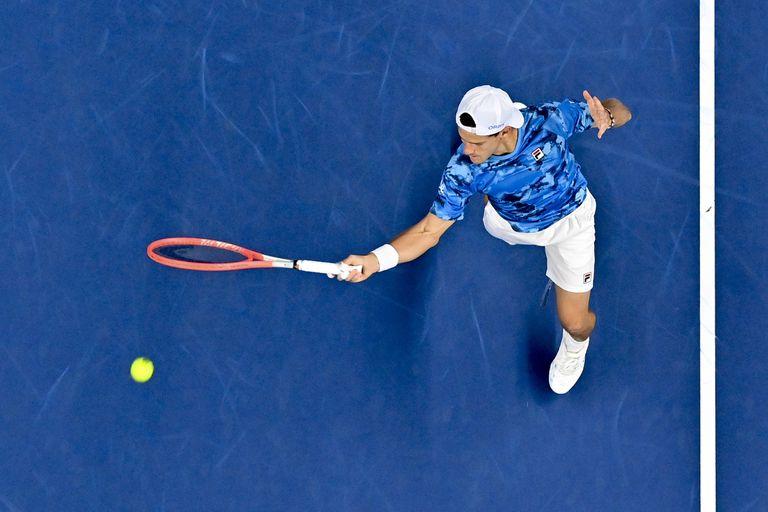 Diego Schwartzman eliminó a Andy Murray en el ATP de Amberes
