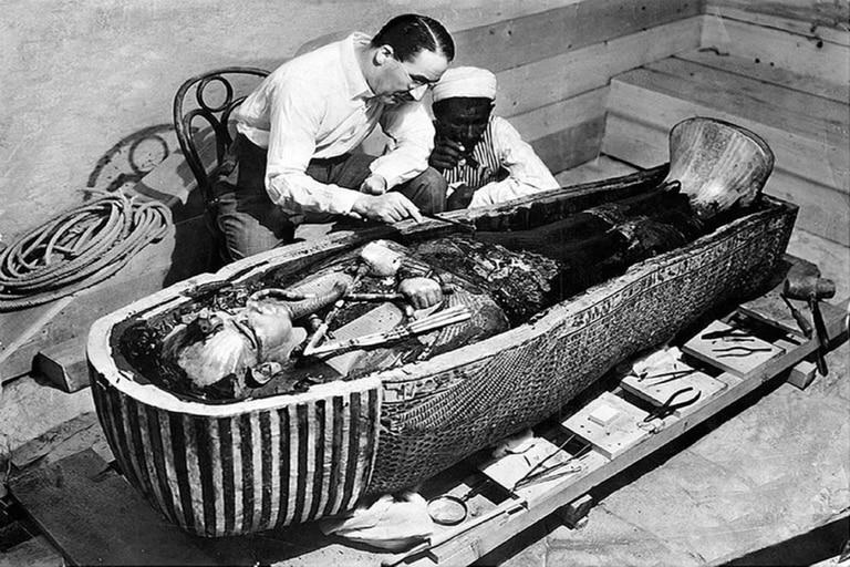 Carter descubrió la tumba en 1922. Fuente: Wikipedia