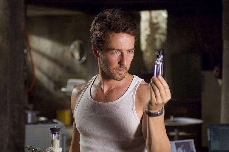 Edward Norton en El increíble Hulk (2008)