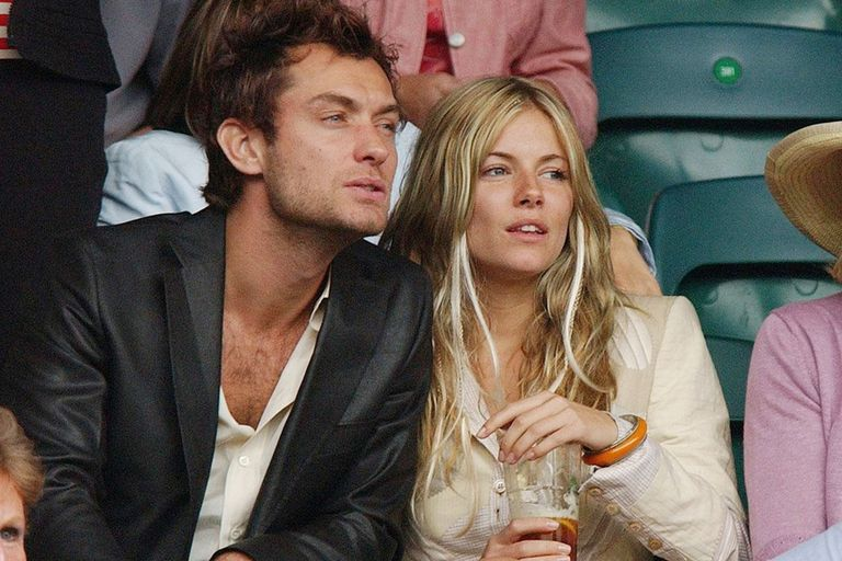 Jude Law y Sienna Miller, una pareja malograda por amor a la niñera