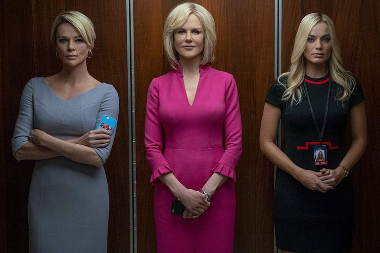 Charliza Theron, Nicole Kidman y Margot Robbie protagonizan Escándalo
