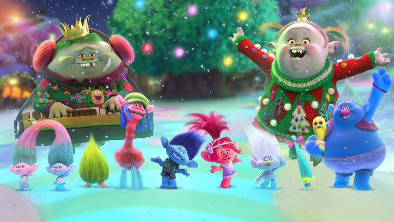 Trolls, especial navideño