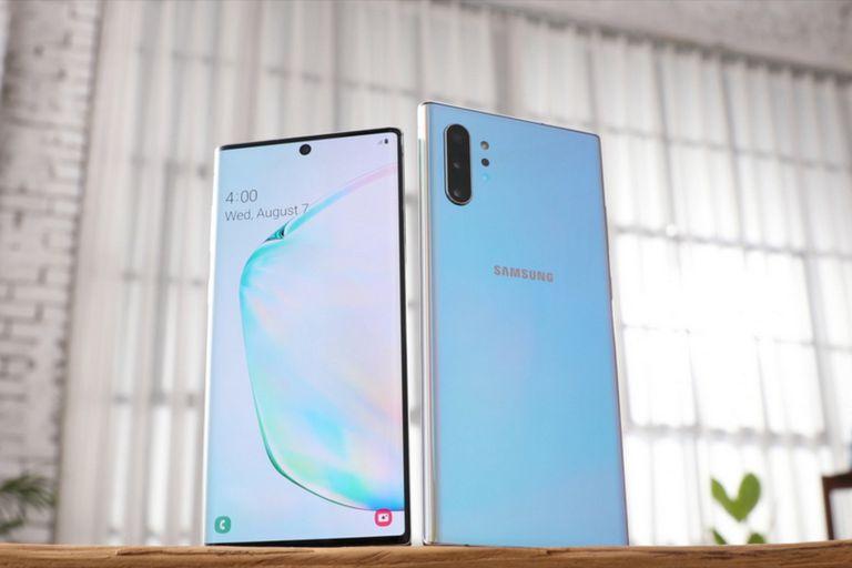 Los Galaxy Note 10 en sus dos versiones de 6,3 y 6,8 pulgadas llegarán al país después de su presentación global en agosto pasado