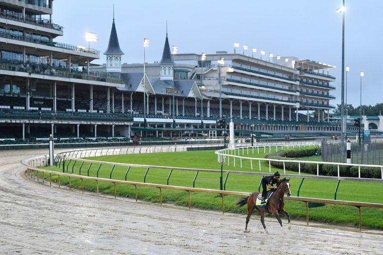 Authentic llega al Kentucky Derby luego de su triunfo más sufrido; soltará afuera de todos sus rivales