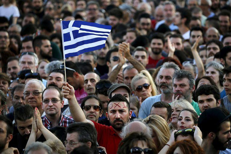 El gobierno griego ha presentado el referendo del domingo como una votación como una elección entre crecimiento económica o más austeridad