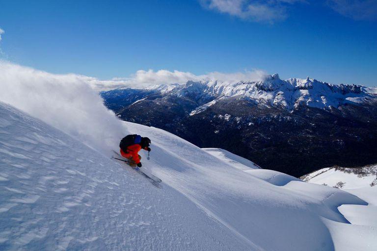 La experiencia de nacer y vivir al lado de un centro de esquí