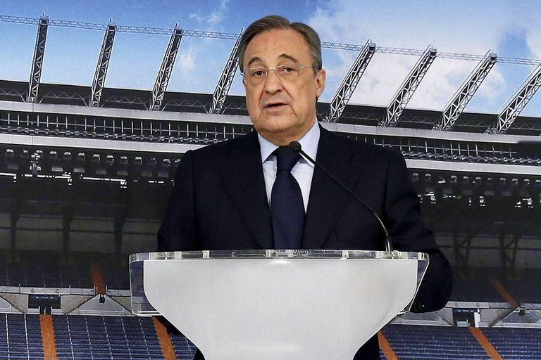 Florentino Pérez, presidente de Real Madrid y de la nueva Superliga