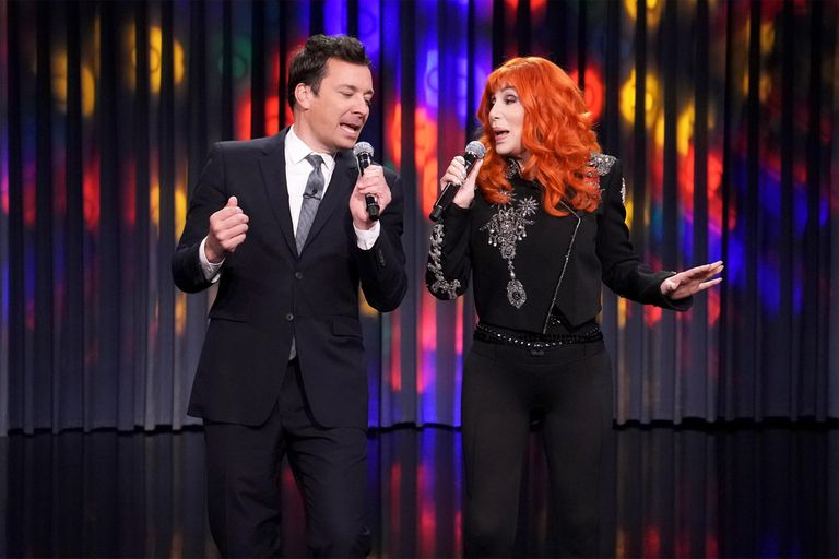 La sorpresiva aparición de Cher en The Tonight Show de Jimmy Fallon