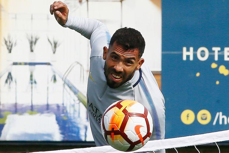 Carlos Tevez espera renovar su contrato con Boca