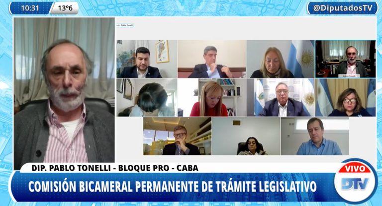 El diputado Pablo Tonelli (Pro) cuestionó el decreto que impuso las restricciones que hoy están vigentes