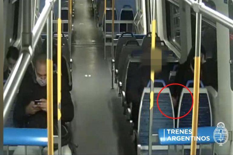 Detienen a un hombre por acosar a una pasajera en el tren Sarmiento