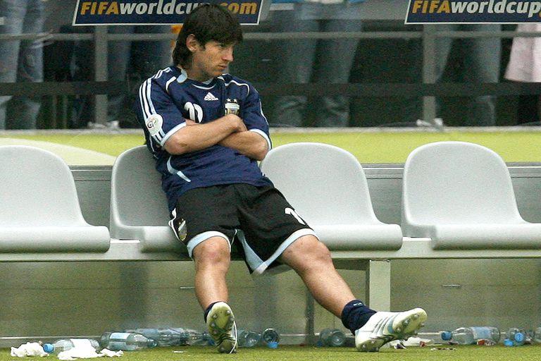 "Lionel Messi, para LA NACION: ""De mi primer Mundial me fui muy triste"""