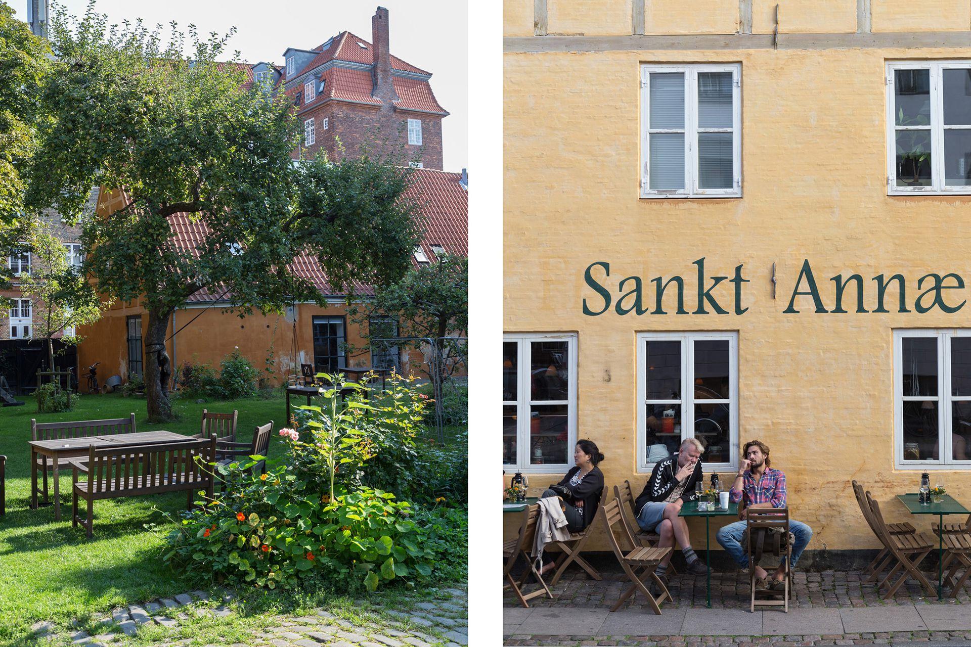 A la vuelta de casa, el pequeño restaurante Sankt Annae fue otra de las recomendaciones generosas, probadas y acertadísimas que nos dieron Nilaus y Marie-Louise.