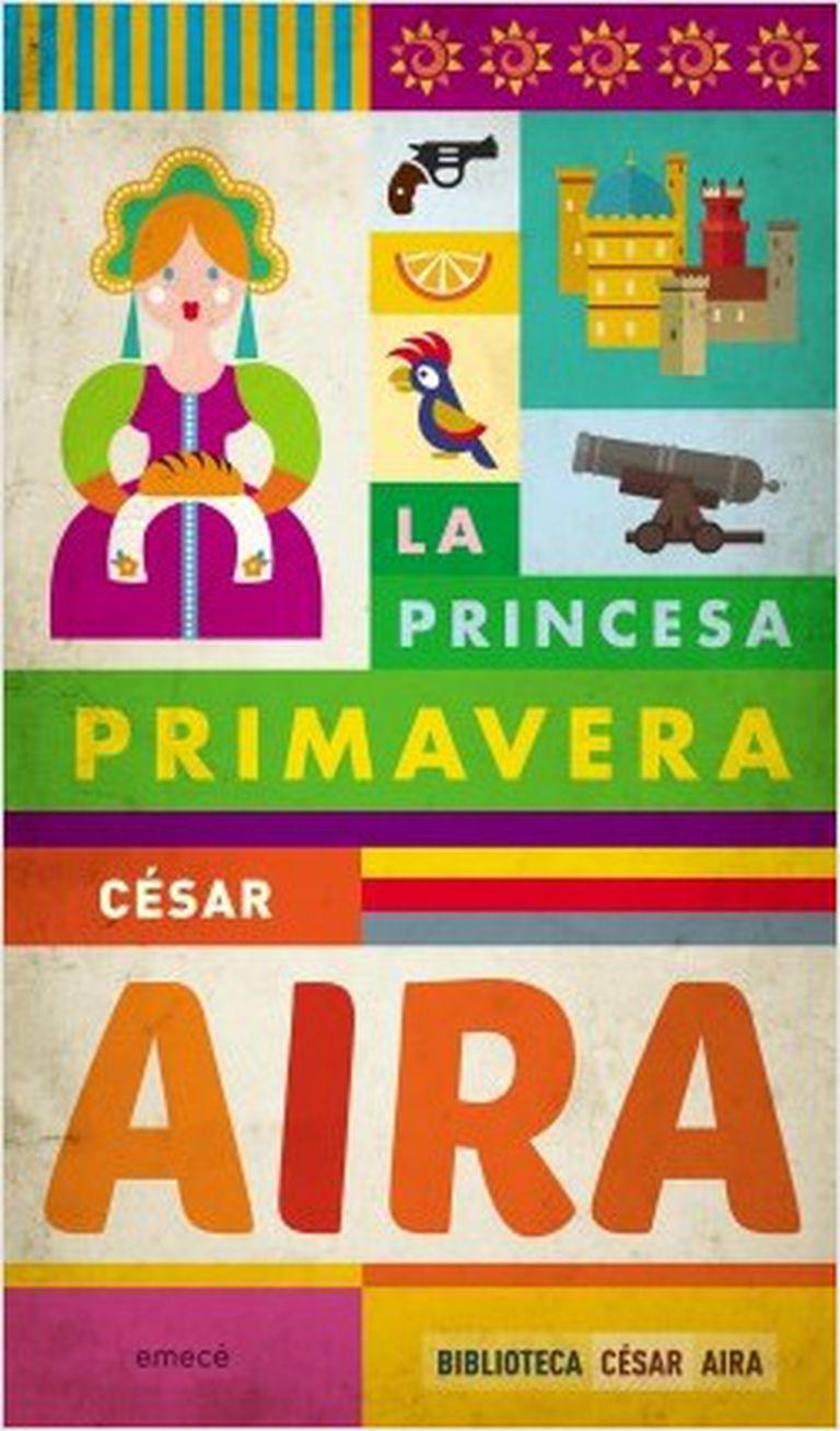 Portada de la edición nacional de la novela de César Aira