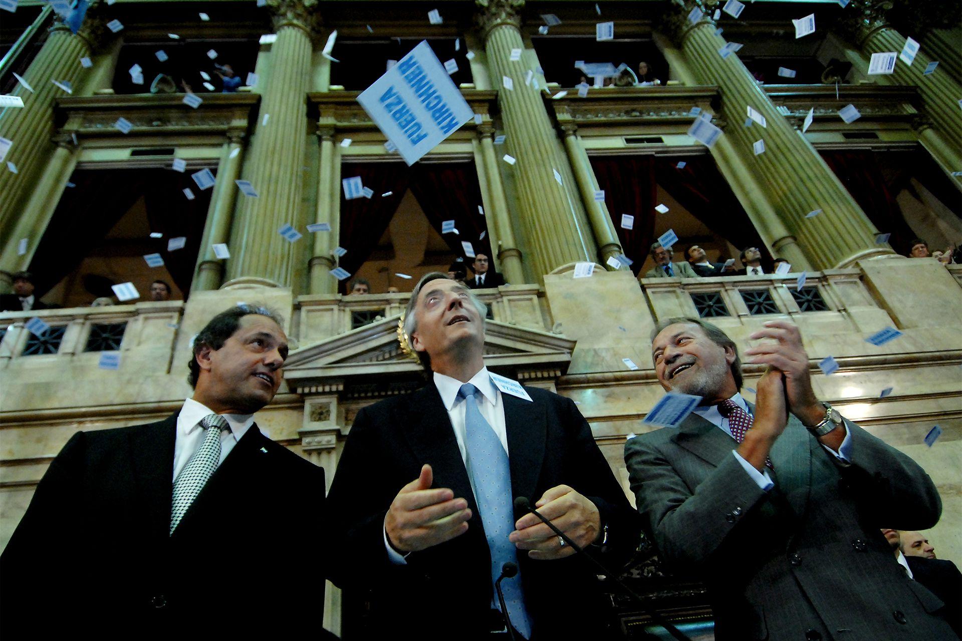 Néstor Kirchner inaugura las sesiones legislativas el 1º de marzo de 2007
