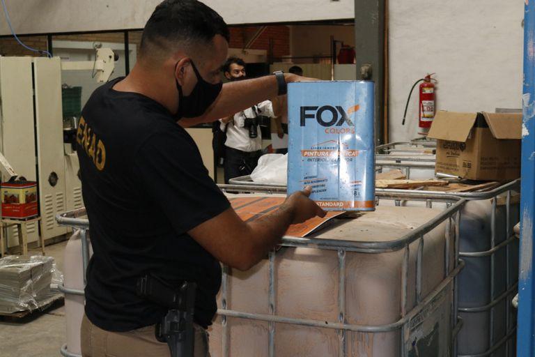 Las 16 toneladas de cocaína secuestradas en Alemania se cargaron en Paraguay pero pasaron por el puerto de Buenos Aires