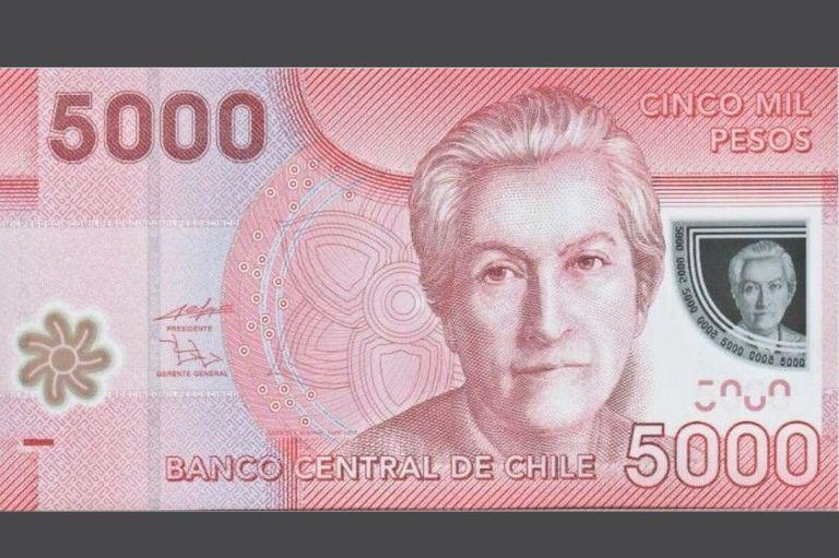 Gabriela Mistral, Premio Nobel de Literatura, recordada en la moneda chilena