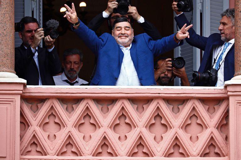 """Daniel Arcucci y el """"Chavo"""" Fucks compararon a Diego Maradona con Muhammad Alí"""
