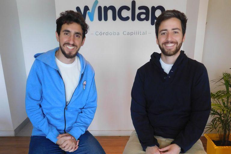 Mariano Saens y Gonzalo Olmedo fundaron Winclap en 2013, una empresa que predice cuál es la forma más eficiente de invertir el presupuesto en marketing y publicidad