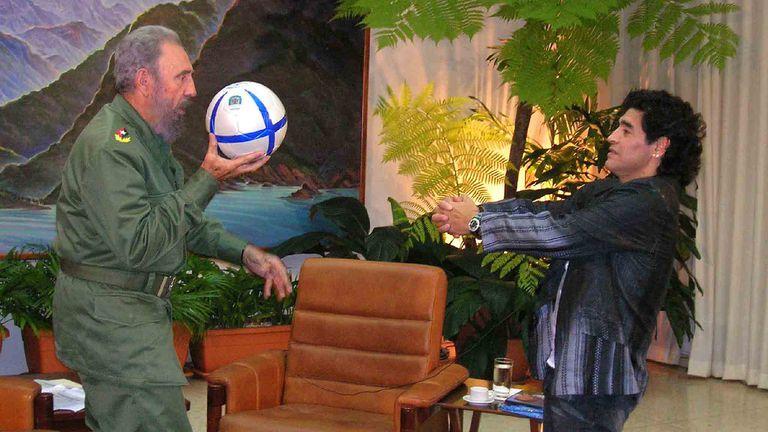 Quique Wolff, Diego Maradona y el carrito de golf autorizado por Fidel Castro