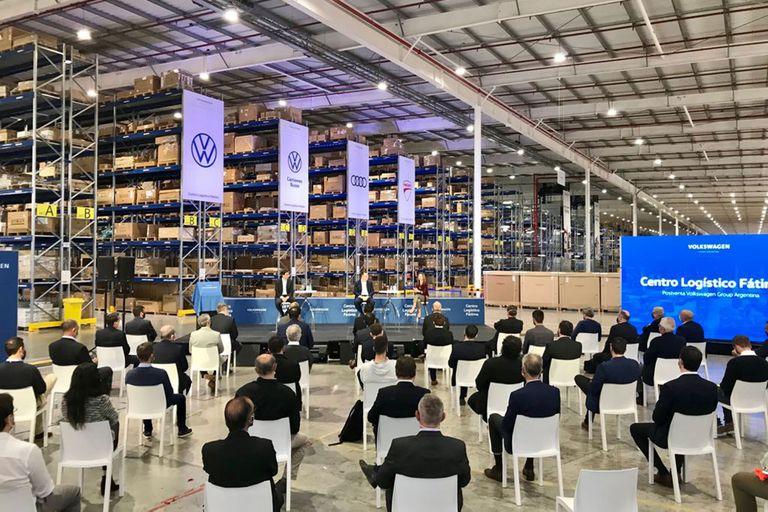 Cómo es el nuevo Centro Logístico de Volkswagen