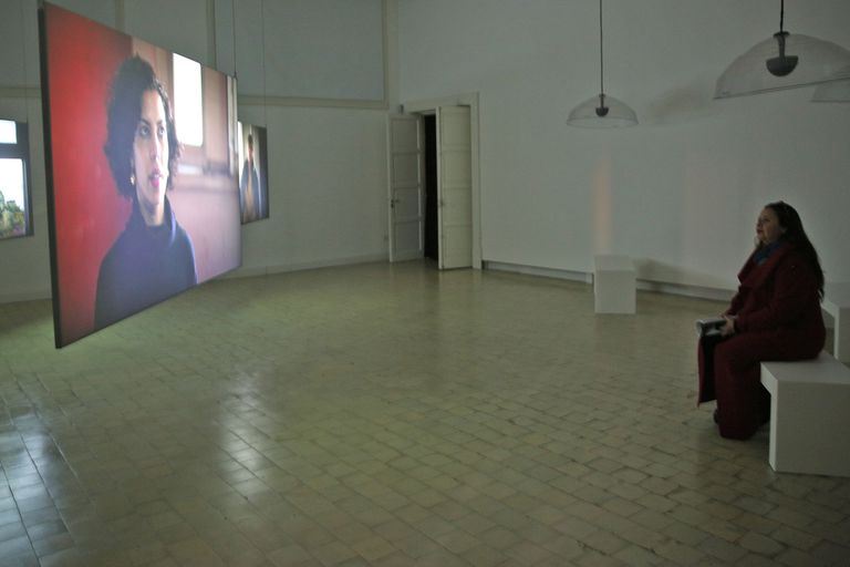 Del otro lado, videoinstalación de Gabriela Golder en la muestra que celebra un cuarto de siglo de vínculo entre Berlín y Buenos Aires