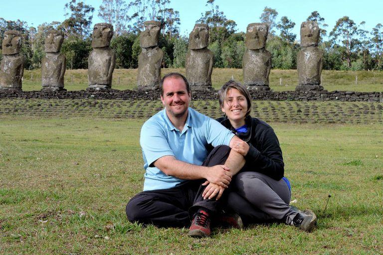 Mariano y Camila tienen pensado recorrer todo el continente