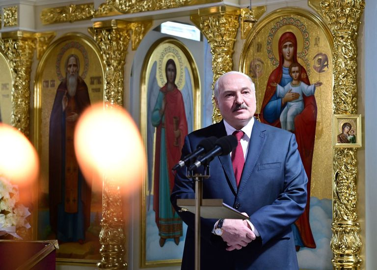Conflicto: Lukashenko explicó por qué interceptó el avión en Belarús