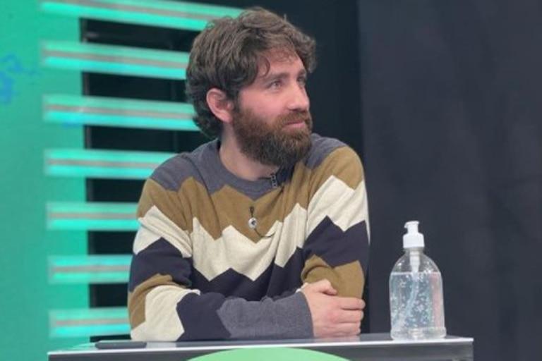 Joaquín Sánchez Mariño en una de sus participaciones del año pasado en el programa de la TV Pública del que fue apartado