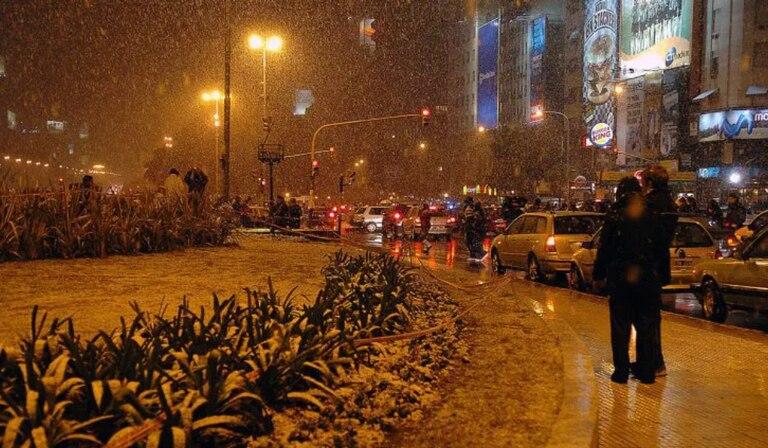 ¿puede caer nieve en la Ciudad de Buenos Aires?